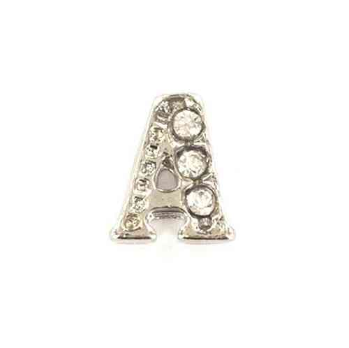 "Floating Charm Buchstabe ""A"""
