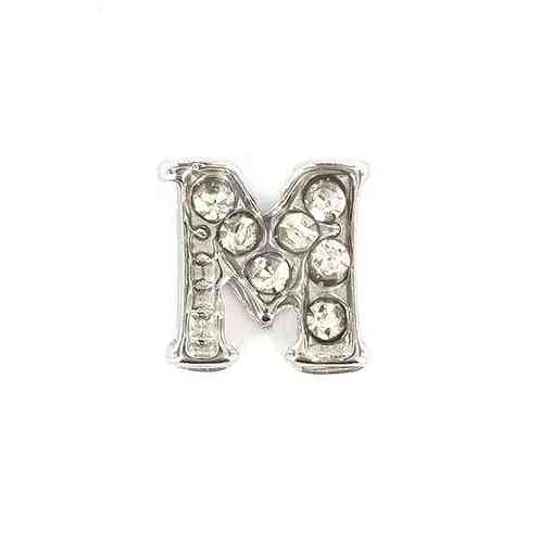 "Floating Charm Buchstabe ""M"""