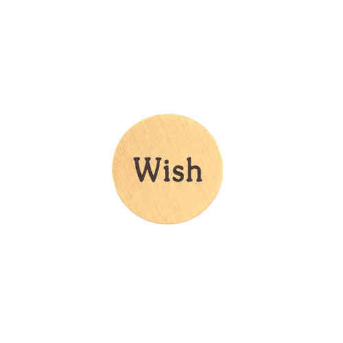 "Platte ""Wish"" Gold (Mini)"
