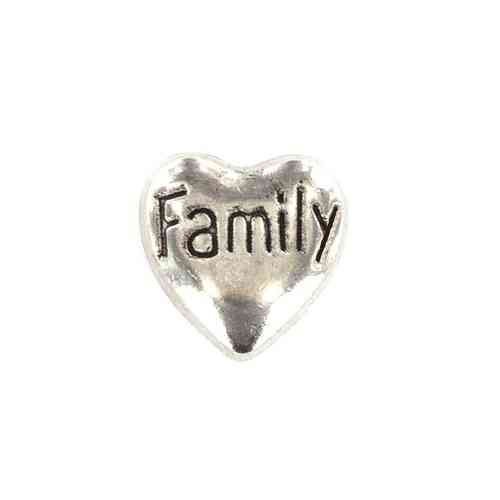 "Floating Charm Herz ""Family"""