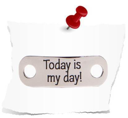 """Today is my day!"" - Glänzend"