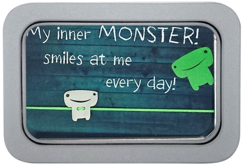 "Armband ""Smiling MONSTER"""