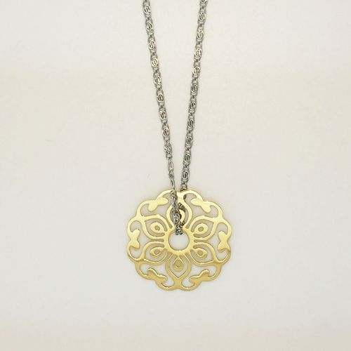 Ornament Kette Silber/Gold - Medium